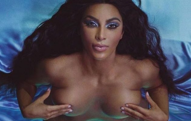 Οι νέες γυμνές φωτογραφίες της Κιμ Καρντάσιαν προκάλεσαν …ταραχή (φωτο)