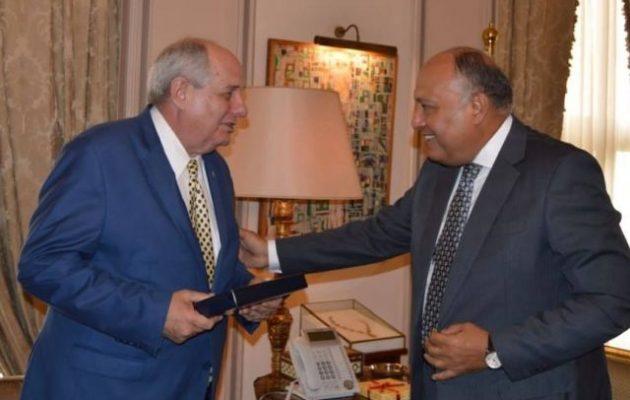 Πολύ θετικό το περιεχόμενο των συζητήσεων Κουίκ-Σούκρι – Ισχυρότατη η συμμαχία Ελλάδας-Αιγύπτου