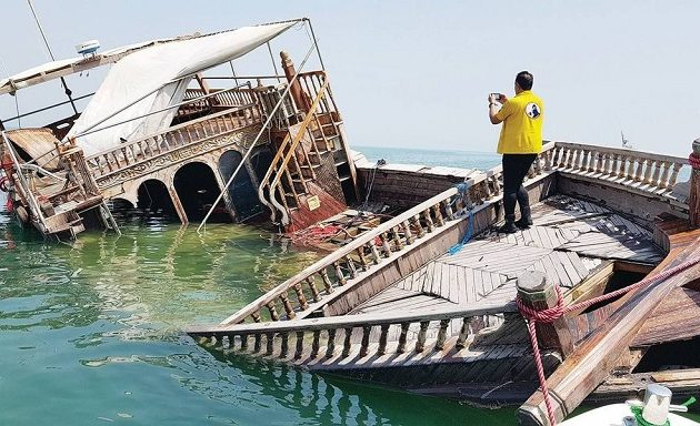 Ανακάλυψαν ξύλινο πλοίο του 18ου αιώνα στο βυθό του κόλπου του Κουβέιτ (φωτο)