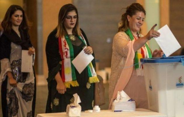 Νικητής στις εκλογές στο ιρακινό Κουρδιστάν το δεξιό «Δημοκρατικό Κόμμα» – Όλα τα αποτελέσματα