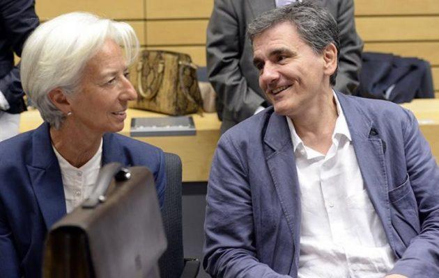 Λαγκάρντ: «Θετική εξέλιξη» η πρόωρη αποπληρωμή χρεών της Ελλάδας στο ΔΝΤ