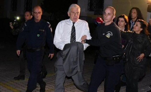 Την έξοδο του από τις φυλακές Κορυδαλλού ζητά με υπόμνημά του ο Παπαντωνίου