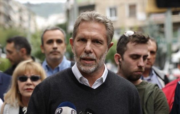 Υποψήφιος για το δήμο Αθηναίων ο Γερουλάνος – Ποιο μήνυμα έστειλε από την Κυψέλη