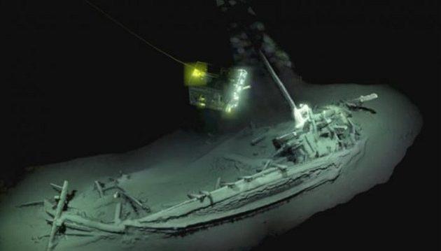 Βρέθηκε άθικτο αρχαίο ελληνικό πλοίο 2.400 ετών στη Μαύρη Θάλασσα (βίντεο)