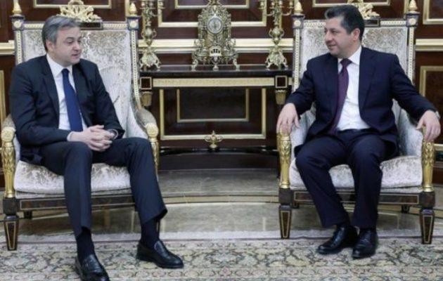 Ο Σέρβος πρέσβης στο Ιράκ επισκέφθηκε το ιρακινό Κουρδιστάν – Τι συζήτησε