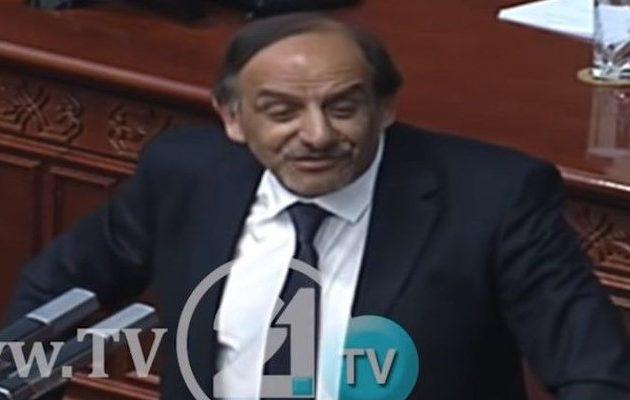Σκοπιανός βουλευτής: Δεν υπάρχει καλύτερη συμφωνία- Ευχαριστώ Αλέξη Τσίπρα