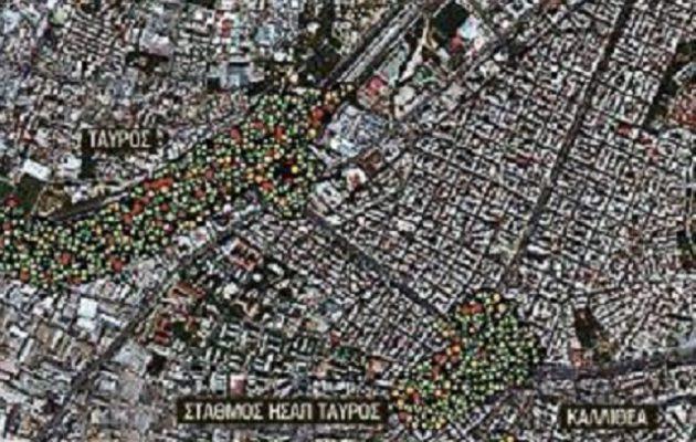 «Βόμβα» στην Αθήνα: Κινδυνεύουν με καθίζηση τρεις περιοχές (φωτο)
