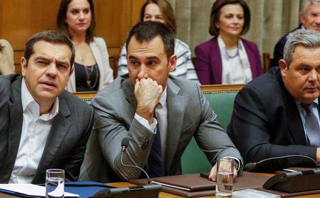 Τσίπρας: Αντεπίθεση με μέτρα ελάφρυνσης, «χαλινάρι» σε ΑΝΕΛ για το Σκοπιανό