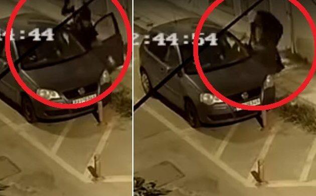 Βόλος: Δημοσιογράφος τρώει άγριο ξύλο στη μέση του δρόμου και δεν τον βοηθά κανείς (βίντεο)
