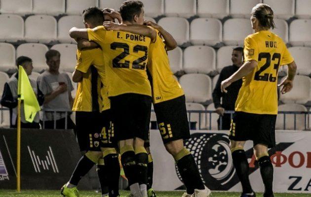 Super League: Απόλλων Σμύρνης-ΑΕΚ 0-2
