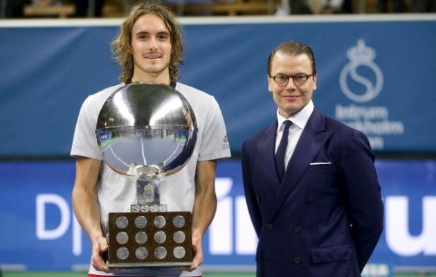 Τον πρώτο του τίτλο σε τουρνουά ATP πανηγύρισε ο Στέφανος Τσιτσιπάς (βίντεο)