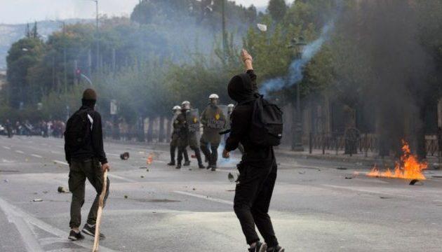 Ολοκληρώθηκε το μαθητικό συλλαλητήριο – Επεισόδια στο Σύνταγμα