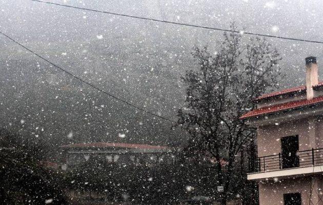 Καιρός: Νέο κύμα κακοκαιρίας την Πέμπτη με χιόνια, κρύο και καταιγίδες