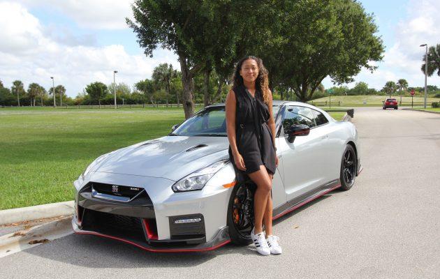 Ένας «γάμος» υψηλών επιδόσεων: Naomi Osaka και Nissan GT-R!