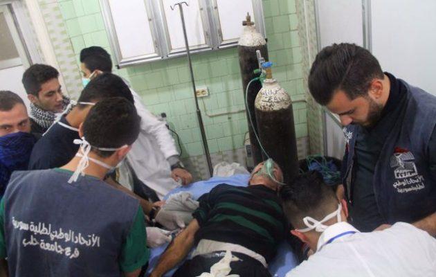 Οι ισλαμιστές βομβάρδισαν με χημικά αέρια το Χαλέπι της Συρίας – Δεκάδες άμαχοι με ασφυξία (φωτο)