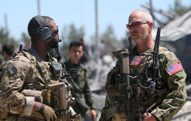 Οι Τούρκοι ισχυρίζονται ότι το Ισλαμικό Κράτος αιχμαλώτισε επτά Αμερικανούς στρατιώτες