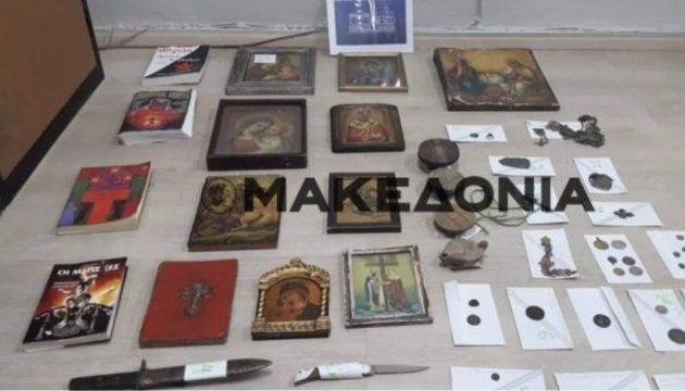 Ανατριχίλα στη Θεσπρωτία – Συνέλαβαν αρχαιοκάπηλους με σύνεργα σατανισμού