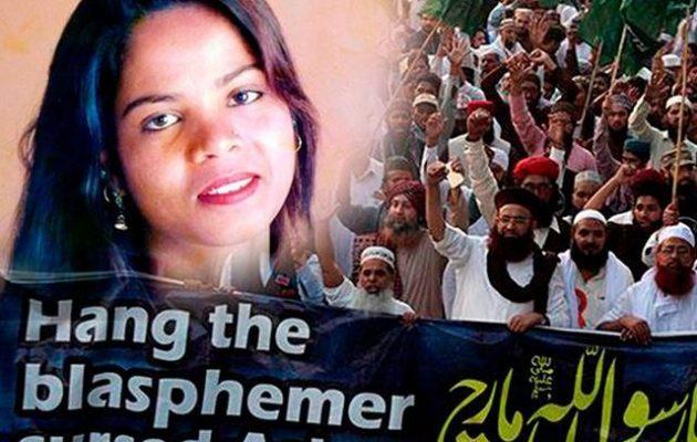 Στον Καναδά βρήκε άσυλο η Άσια Μπίμπι που ήθελαν να την κρεμάσουν στο Πακιστάν για «βλασφημία»