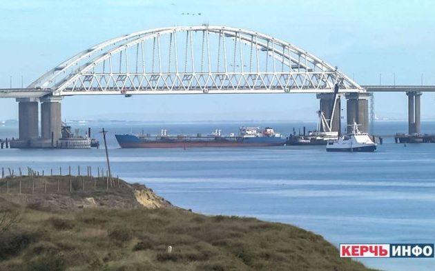 Η Ρωσία έκλεισε τον Πορθμό του Κερτς και απέκλεισε την Αζοφική Θάλασσα για την Ουκρανία (φωτο)