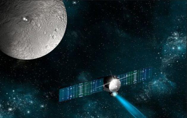 Το ερευνητικό σκάφος «Αυγή» σιώπησε ενώ βρισκόταν σε τροχιά γύρω από τον νάνο-πλανήτη Δήμητρα