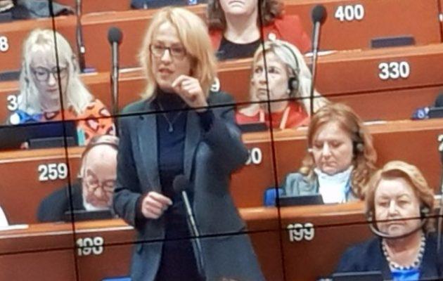 Η Ρένα Δούρου εκλέχτηκε αντιπρόεδρος της Σοσιαλιστικής Ομάδας στο Συμβούλιο της Ευρώπης