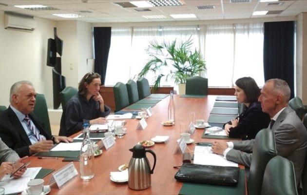 Τι συζήτησε ο Δραγασάκης με τον πρέσβη Ρωσίας Αντρέι Μάσλοφ