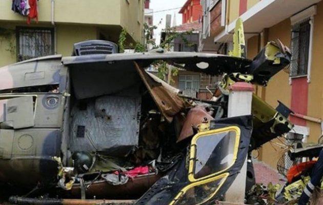 Συνετρίβη στρατιωτικό ελικόπτερο ανάμεσα σε σπίτια στην Κωνσταντινούπολη – Τέσσερις νεκροί (βίντεο)