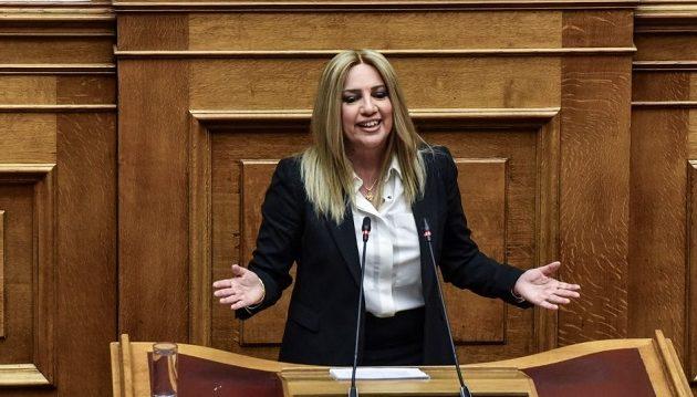 Γεννηματά: Δύναμη αποτροπής του εθνολαϊκιστικού μετώπου στην Ελλάδα το ΚΙΝΑΛ