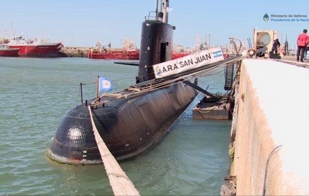 Βρέθηκε το υποβρύχιο ARA San Juan ένα χρόνο μετά την εξαφάνισή του στον Ατλαντικό
