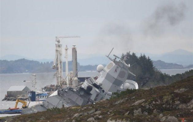 Τι λέει η εταιρεία του τάνκερ που βύθισε τη νορβηγική φρεγάτα