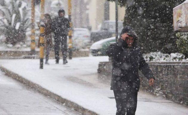 Η «Πηνελόπη» τρίζει τα δόντια – Φέρνει χιόνια και σαρωτικούς ανέμους