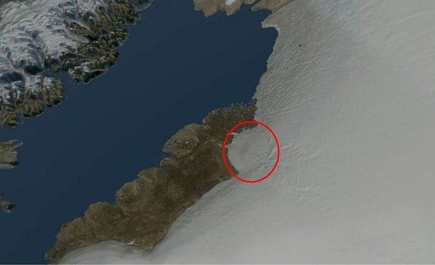 Εντυπωσιακή ανακάλυψη: Βρέθηκε κρατήρας με μέγεθος μεγαλύτερο της Αττικής