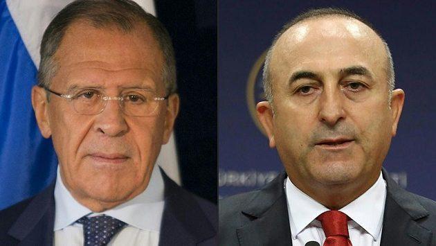 Τηλεφωνική συνομιλία Λαβρόφ – Τσαβούσογλου για τη Συρία