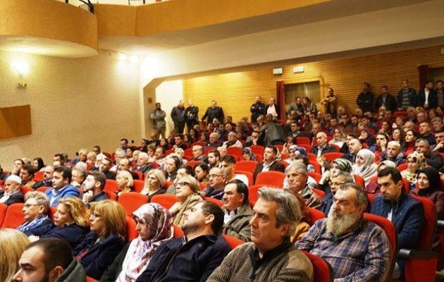 Έλληνες μουσουλμάνοι και Έλληνες Αλεβίτες το 30% του ακροατηρίου του Κοτζιά στην Κομοτηνή