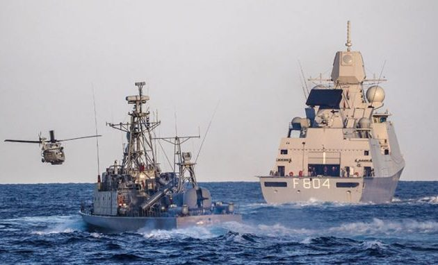 «Ζεσταίνεται» η Μεσόγειος – Ελληνικά, αιγυπτιακά, γαλλικά και τουρκικά πολεμικά πλοία