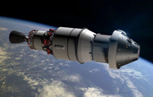 Η Ευρώπη παρέδωσε στις ΗΠΑ το κατώτερο μέρος του διαστημοπλοίου Orion