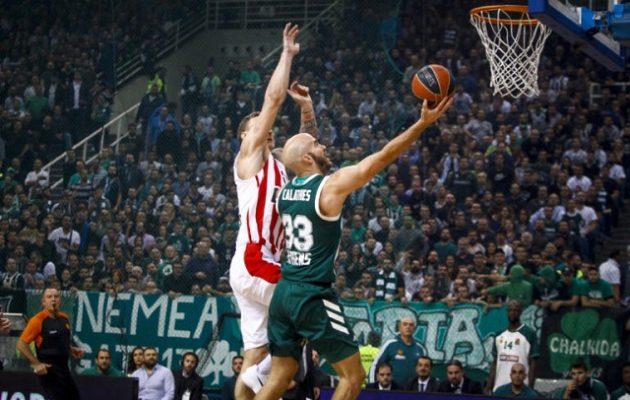 Ευρωλίγκα: Ο Παναθηναϊκός νίκησε με 93-80 τον Ολυμπιακό