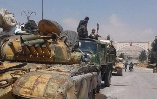 Ο συριακός στρατός μετέφερε την 5η Λεγεώνα του στη βορειοδυτική Συρία