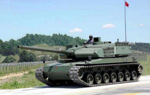 H Τουρκία υπέγραψε συμφωνία 7 δισ. για τη μαζική παραγωγή αρμάτων μάχης