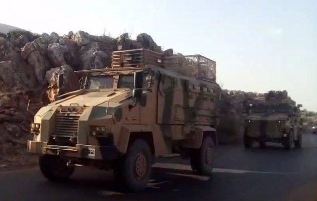 Τουρκική φάλαγγα φορτωμένη με πυρομαχικά για τους τζιχαντιστές εισήλθε στη Συρία