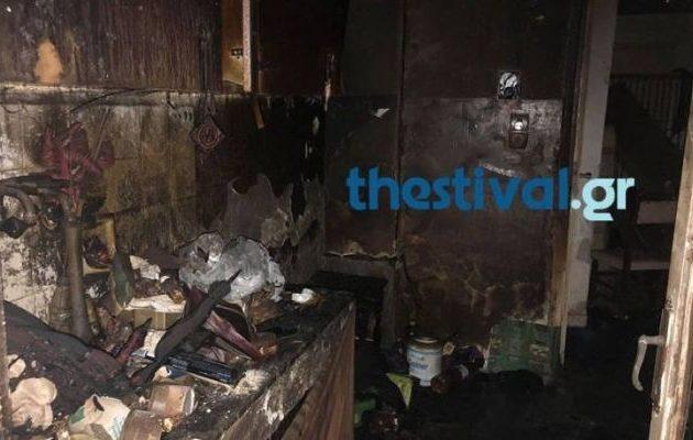 Τραγικό: Τον βρήκαν απανθρακωμένο σε ημιυπόγειο στη Θεσσαλονίκη (φωτο)