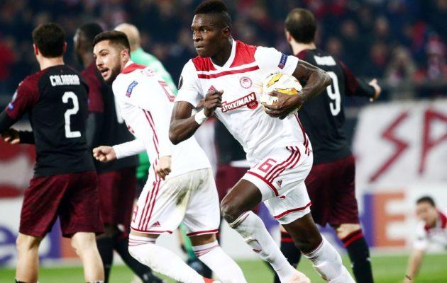 Ο Ολυμπιακός πάτησε τη Μίλαν 3-1 και προκρίθηκε στους «32» του Europa League