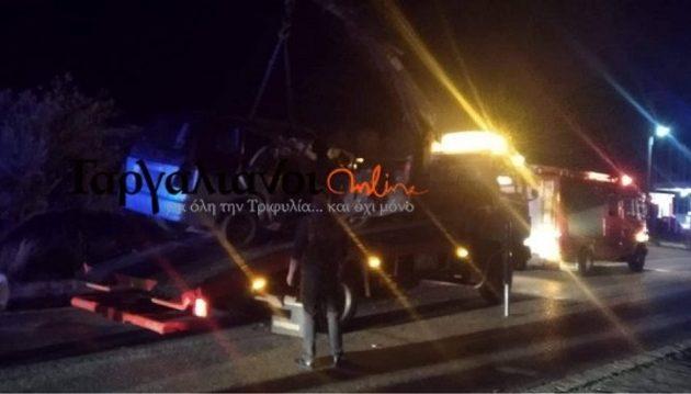 Τροχαίο με δύο νεκρούς και τρεις τραυματίες στην Κυπαρισσία