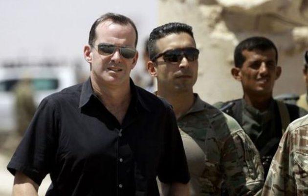 Έχασε τον ύπνο του ο Ερντογάν – Ο Μπρετ ΜακΓκούργκ «επιστρέφει» στη βόρεια Συρία