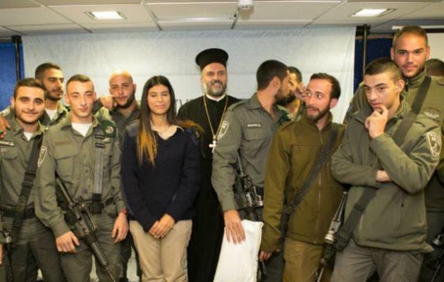 Ο Νετανιάχου εξύμνησε τους χριστιανούς στρατιώτες του Ισραηλινού στρατού