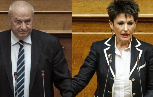 Ο ΣΥΡΙΖΑ καταδικάζει την υβριστική επίθεση εναντίον της Αννέτας Καβαδία στη Βουλή