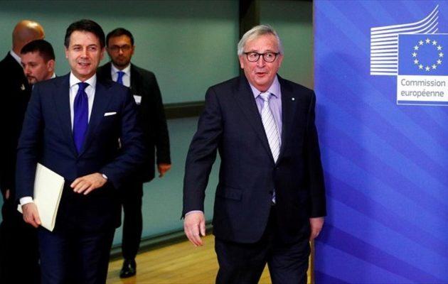 Tι πρότεινε ο Κόντε στον Γιούνκερ για το έλλειμμα της Ιταλίας