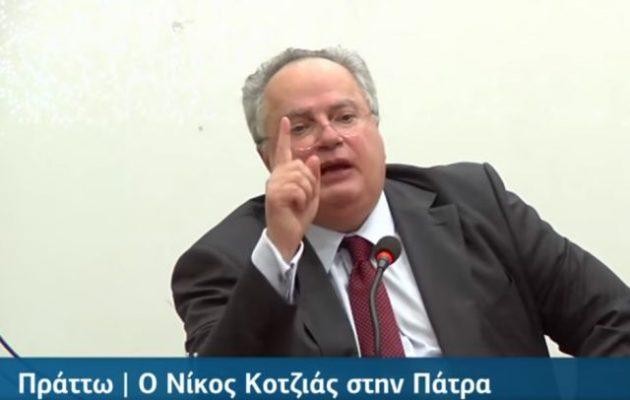 Νίκος Κοτζιάς: «Τα τράβηξα τα αφτιά του Ζάεφ με τον τρόπο μου, γιατί μιλάω μαζί τους»