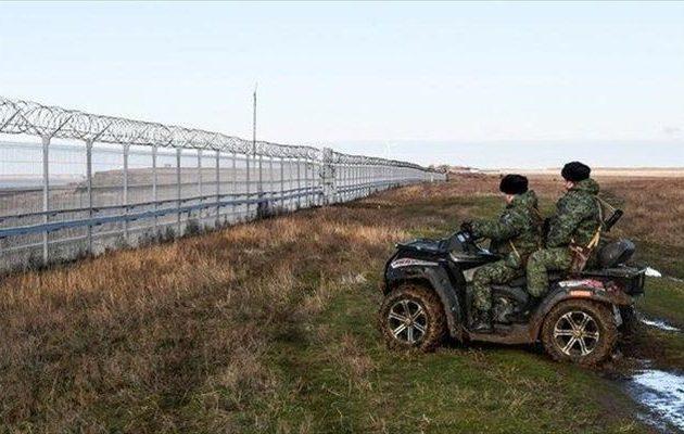 Οι Ρώσοι ολοκλήρωσαν τον φράχτη στην Κριμαία – Τι τεχνολογία έχει