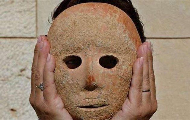 Τελετουργική μάσκα 9.000 ετών στο Ισραήλ – Σκαλίστηκε στην αρχή της «αγροτικής επανάστασης»